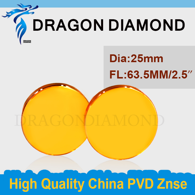 ФОТО China Znse laser lens Dia 25mm FL 63.5mm high Accuracy co2 laser focus lens mirror supplier for laser engraving cutter machine