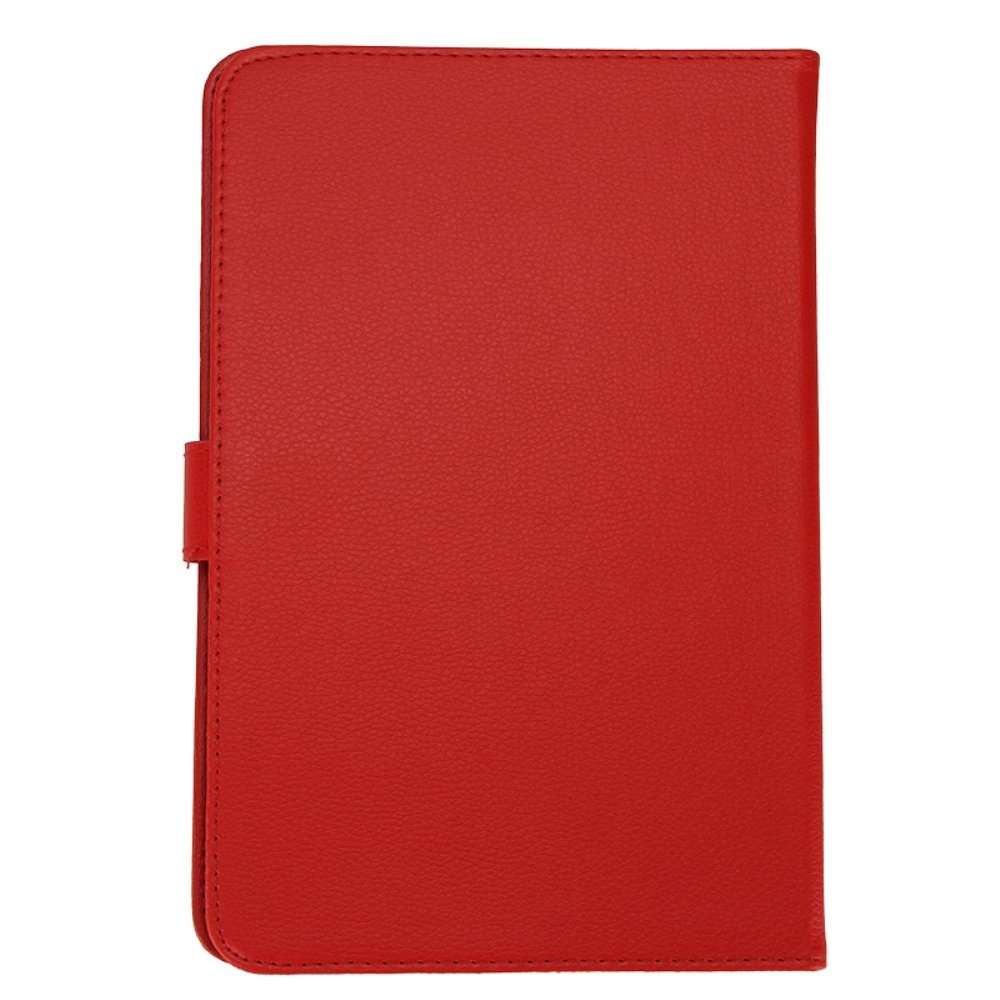 CAA Hot Leather Folder Pouch Cover Skin Case Shell, Tablet Cover, Tablet Case For 9 inch Tablet PC (Red 9 inch)