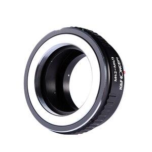 Image 4 - K & F Conceito adaptador para M42 montagem da lente para Micro 4/3 M4/3 Mount Adapter G3 GH2 GH3 GH4 GH5