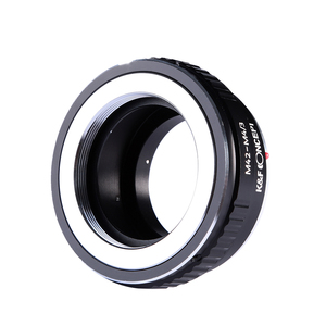 Image 4 - K & F Concept адаптер для M42 mount lens to Micro 4/3 M4/3 Mount adapter G3 GH2 GH3 GH4 GH5