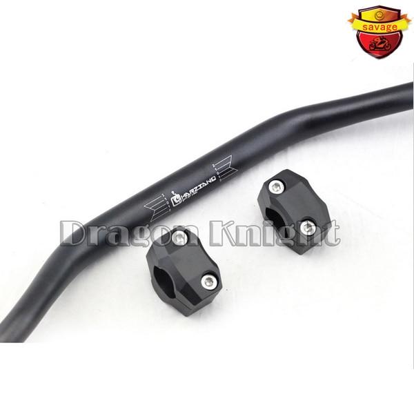 ФОТО FOR SUZUKI DR-Z400S DRZ400SM RMZ250 RMZ450 Handlebar Steering Wheel & Riser handlebar BLACK