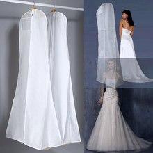 Очень большая одежда для свадебного платья, длинный защитный чехол для одежды, чехол для свадебного платья, пылезащитные Чехлы, сумка для хр...