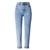2017 Retro Cintura Alta jeans mulher Outono inverno Marca Neve solta reta Calças Jeans causal Boyfriend Calças Das Mulheres Calças de Brim Do Punk