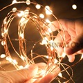 10M 33Ft Micro 100 Leds Copper Wire LED String Light Fairy Lights for Christmas Includes Power Adapter UK US AU EU Plug CE ROSH