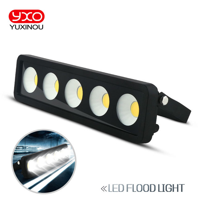 Водонепроницаемый IP66 Светодиодный прожектор 30 Вт 50 Вт 100 Вт 150 Вт светодиодный проектор 110 В 220 открытый безопасности Ландшафтный прожектор н...