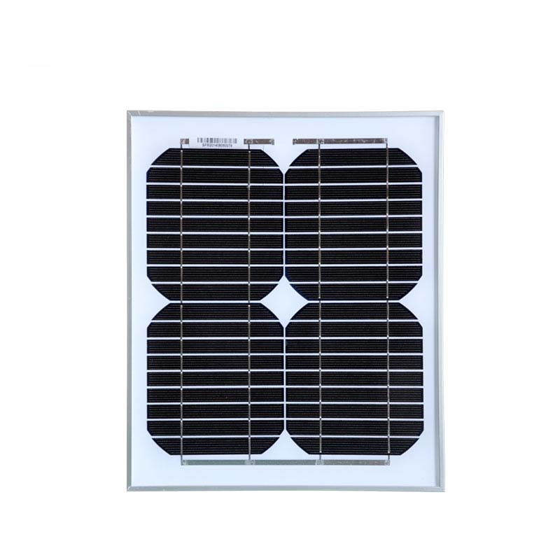 5pc Solar Panel 10w 18v Photovoltaic Panel China For Led Monocrystalline Cell Solar Charger For Car Battery 12v Carregador Solar