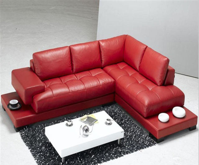 Top Graded Italian Genuine Leather Sofa Sectional Living Room Home Furniture With Wooden Bottom Muebles