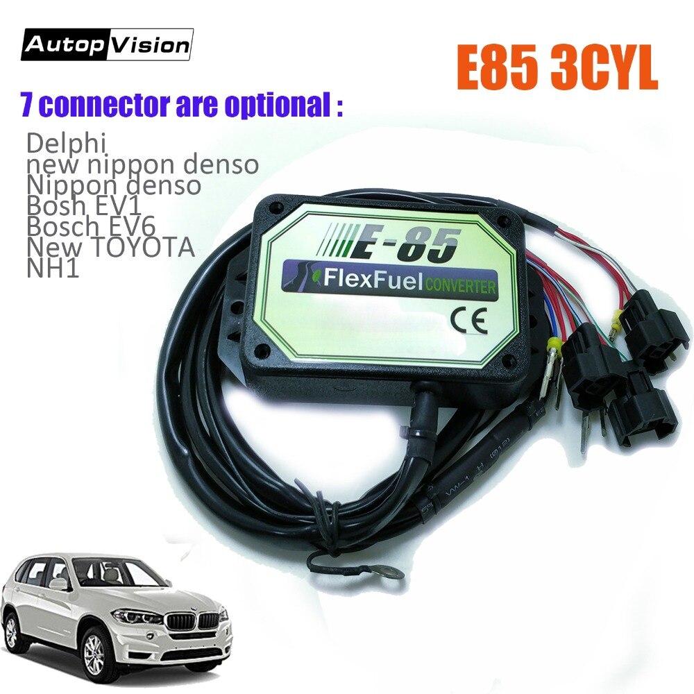 E85 ชุด 3cyl เย็นเริ่มต้น Asst. ไบโอแฟลก e85 เอทานอลรถ, ไบโอเอธานอล converter ยานพาหนะ, 7 Connector อุปกรณ์เสริม-ใน การส่งผ่านและสาย จาก การรักษาความปลอดภัยและการป้องกัน บน AliExpress - 11.11_สิบเอ็ด สิบเอ็ดวันคนโสด 1