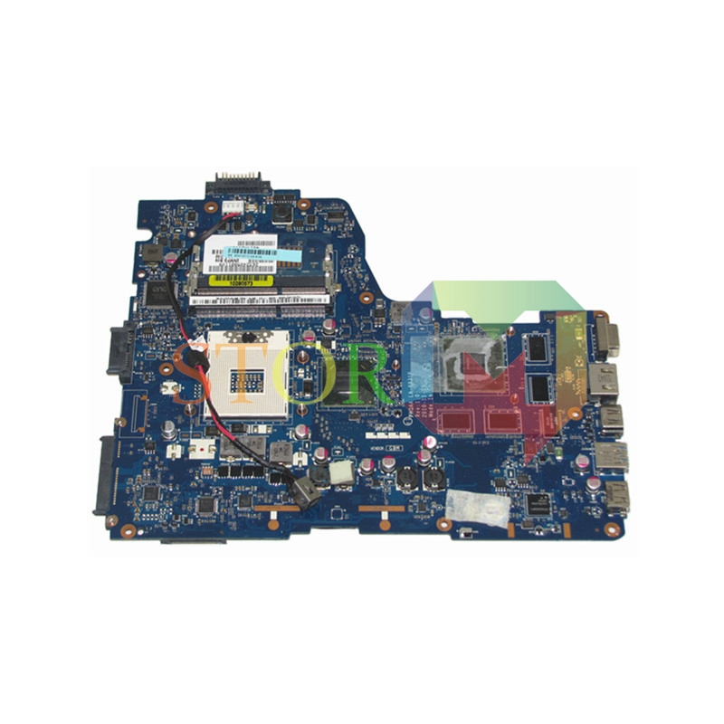 NOKOTION for toshiba satellite A665 laptop motherboard K000125710 PHQAA LA-6831P REV 1.0 HM65 GT540M DDR3 Full Tested k000125660 la 6831p a660 a665 motherboard tested by system