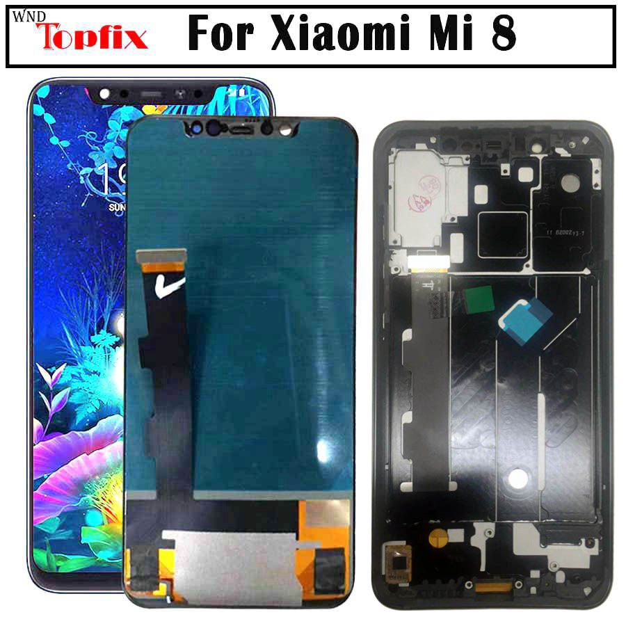 TFT Screen Xiaomi Mi 8 LCD MI 8 Display Digitizer Assembly Touch Screen Replacement 6 21