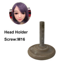 Hanidoll Sex doll head holder for silicone Sex Dolls' Head And TPE Adult Love Doll head holder screw M16(China)