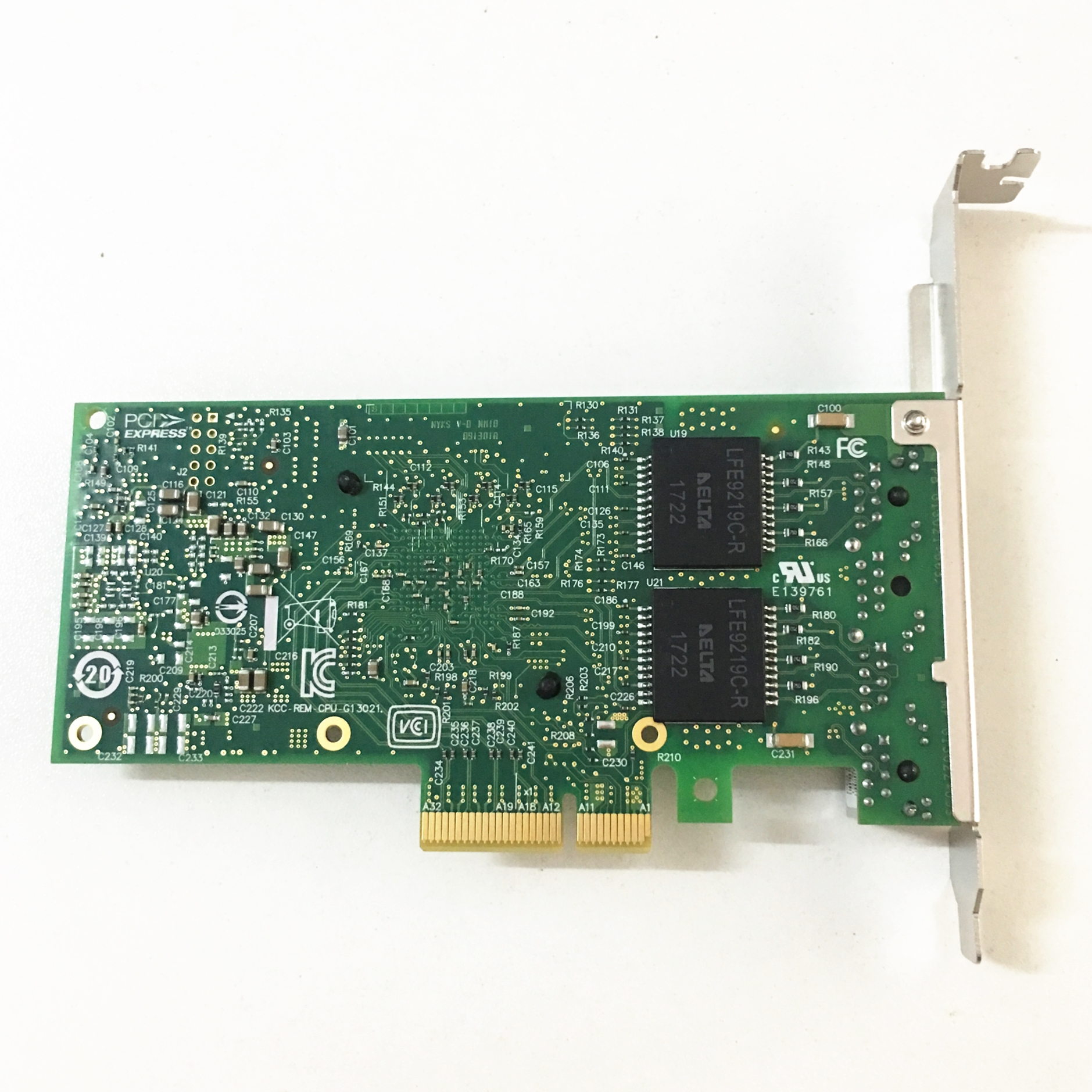 Image 2 - Китайский OEM блок/сторонний блок новый серверный адаптер для  intel I350 T4 PCI Express cuatro RJ45 puertos Gigabit NICСетевые карты