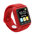 Reloj inteligente bluetooth smart watch u80 conector ios apple iphone android samsung teléfono pk montre smartwatch dz09 u8 u8s