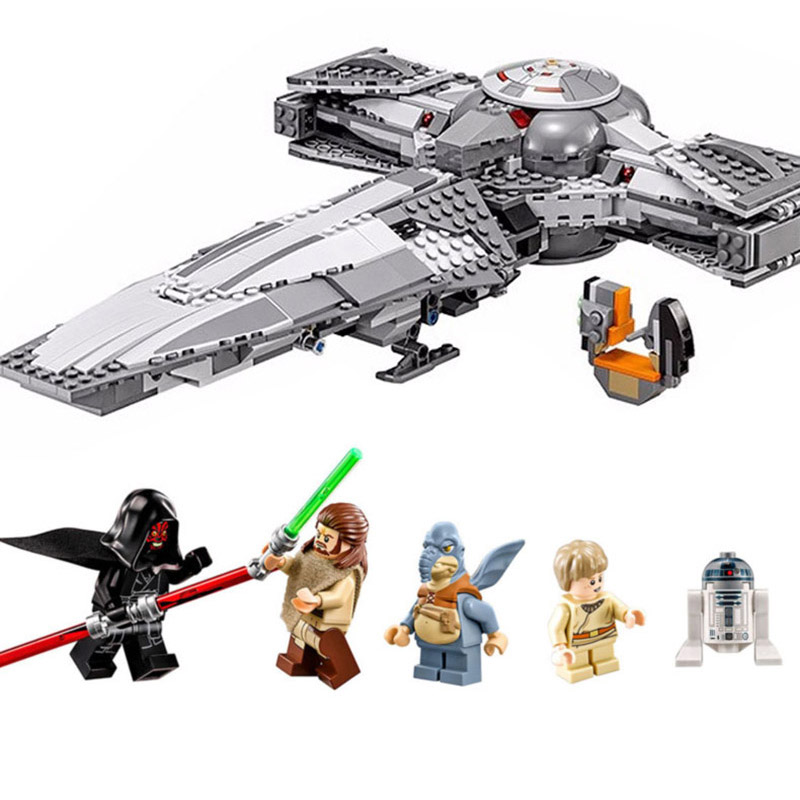 LEPIN 05008 Star Force Awaken Sith Infiltrator Model Building Block Toy Gift For Children Wars Compatible legoinglys 75096 Gifts 2018 new 05008 star wars force awaken infiltrator building blocks bricks toys compatible with legoingly starwars children model