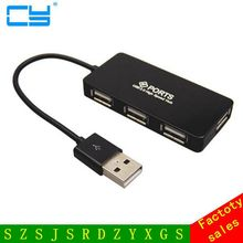 Four Port Ultrathin Excessive Velocity USB 2.zero HUB Enlargement Energy Adapter for Pocket book PC