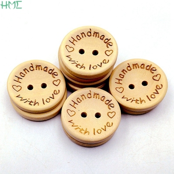 50 шт., деревянные пуговицы с надписью «Love»|Пуговицы|   | АлиЭкспресс