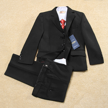 Boys suits for weddings Kids Prom Suits Black Formal Tuxedos Big Children Clothing Set Boy Formal Classic Costume School wears