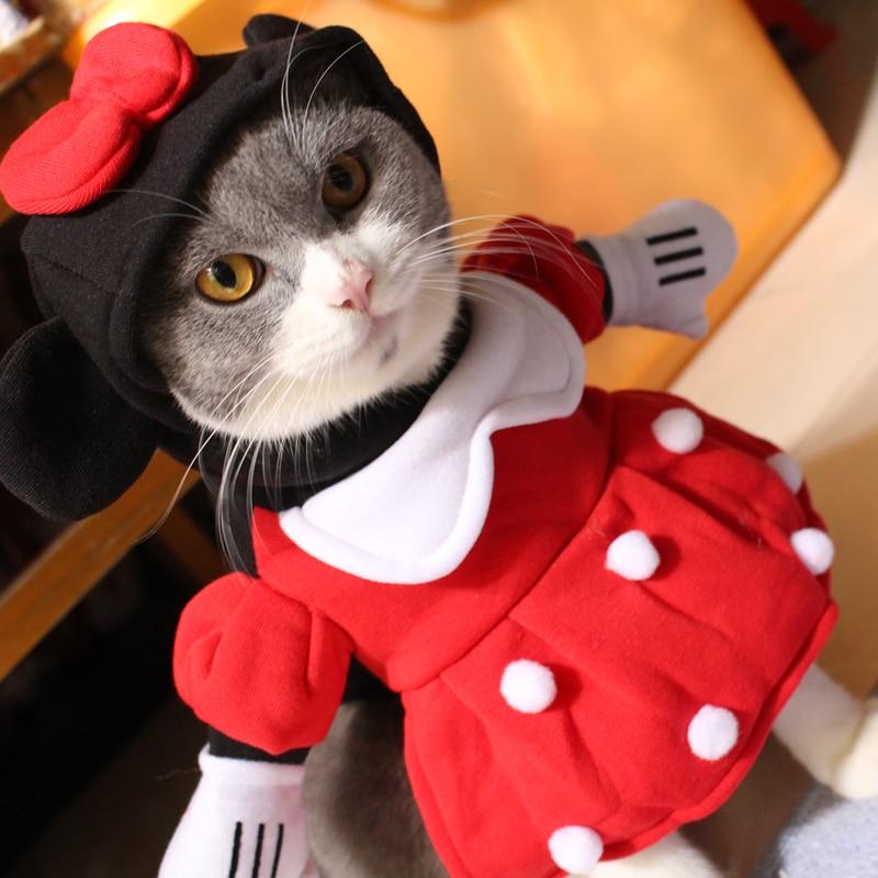 Mpk Gatto Costumi Vestito Da Minnie Per Gatti Pet Costume Con Il