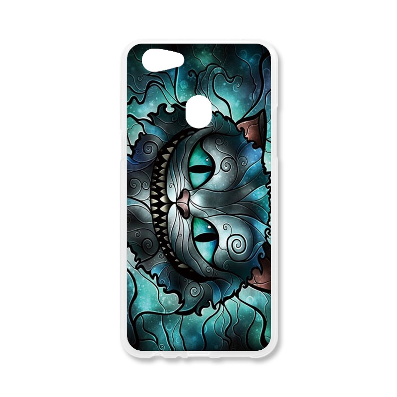 Case For OPPO F7 Case Silicone For OPPO F7 Patterned Cases Back Covers Fundas For OPPO F7 Coque Housing Shells Hood Capa