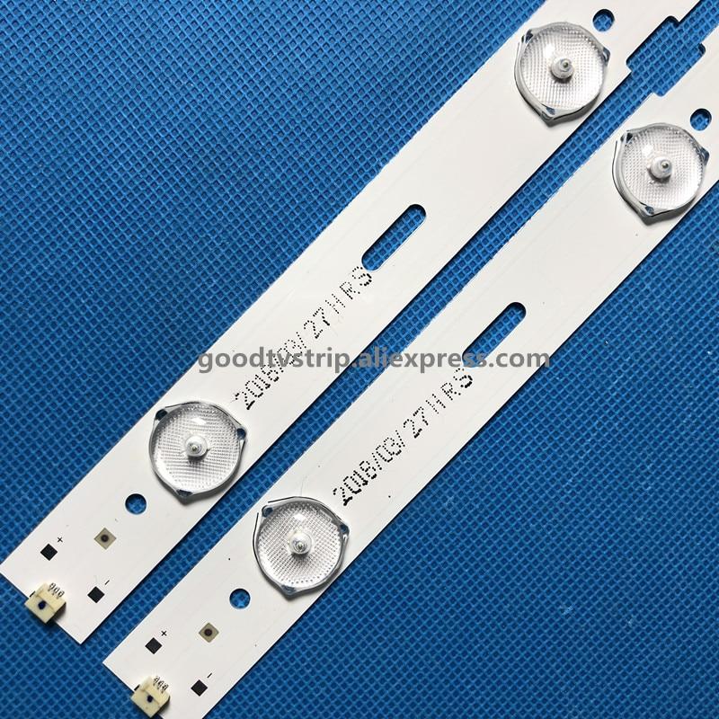 Led Lighting Genteel 428mm Led Backlight Lamp Strip 5leds For Sam Sung 40 Inch Tv 40-lb-m520 40vle4421bf 2013arc40 40vle6520bl 2013hi400 Led40k30jd