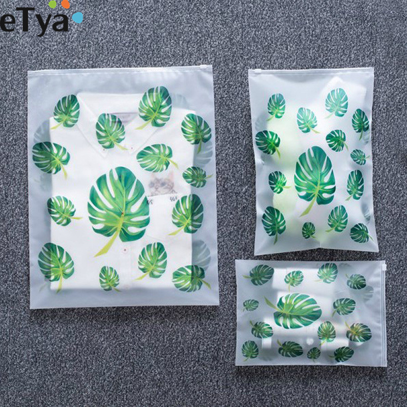 eTya 2019 Travel Accessories Men Women PVC Luggage Clothes Classified Organizers Bags Packing Shoes Cosmetic Towel Pouch Case