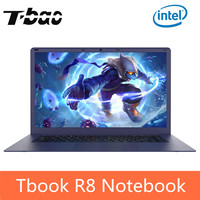 T Бао Tbook R8 ноутбука Тетрадь PC 15,6 дюймов Windows 10 Intel Cherry Trail x5 z8350 4 ядра 1,44 ГГц 4 ГБ Оперативная память 64 ГБ eMMC компьютер