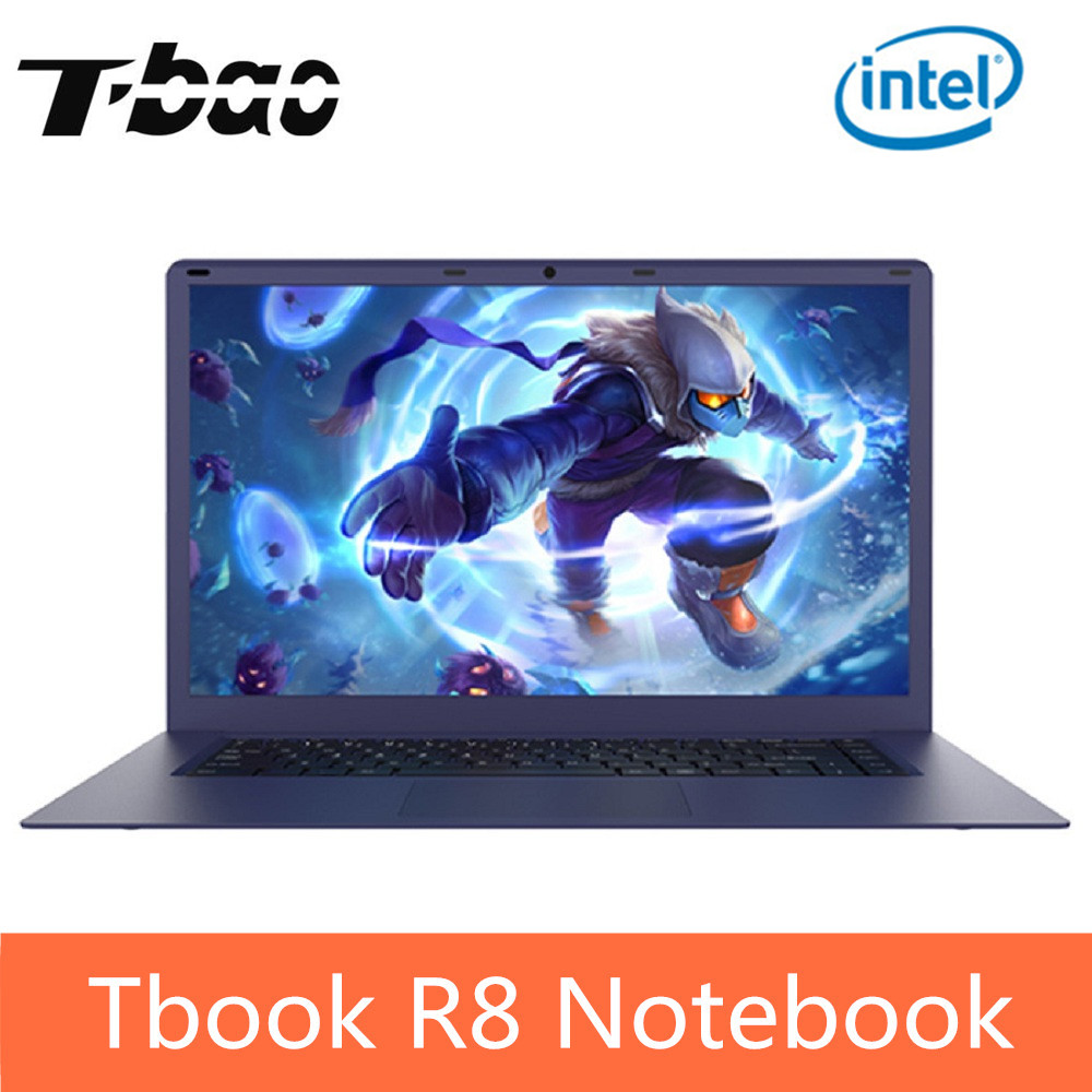 T-bao Tbook R8 Laptop Notebook PC 15,6 zoll Windows 10 Intel Kirsche Trail X5-Z8350 Quad Core 1,44 ghz 4 gb RAM 64 gb eMMC Computer