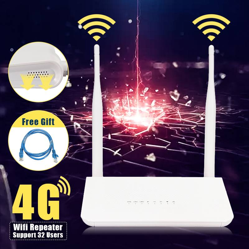 LEORY 4G LTE CPE Mobile Router With LAN Port Support SIM Card Portable 150Mbps Wireless Router With 2 External AntennasLEORY 4G LTE CPE Mobile Router With LAN Port Support SIM Card Portable 150Mbps Wireless Router With 2 External Antennas