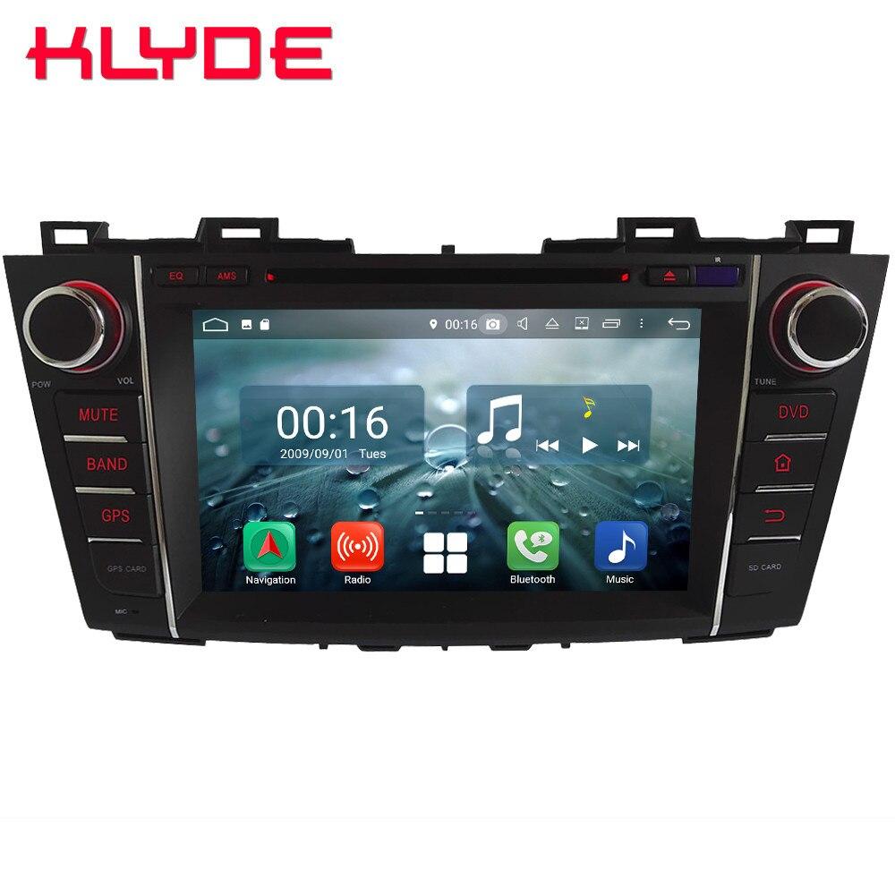 8 Octa Core 4G Android 8.1 4GB RAM 64GB ROM BT Car DVD Multimedia Player Radio Stereo GPS Glonass For Mazda 5 Premacy 2007 2013