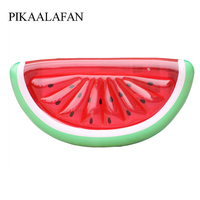 PIKAALAFAN Large Size PVC Inflatable Float Watermelons Float Swimming Ring Toys Water Supplies For Adults Water Pool Party