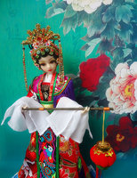 31CM High End Handmade Chinese Costume Dolls Princess Changping Limited BJD 1 6 12 Jointed Doll