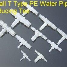 Coupler-Connector Hose Reducing-Tee Aquarium-Parts Water-Pipe Small K614 1pcs T-Type