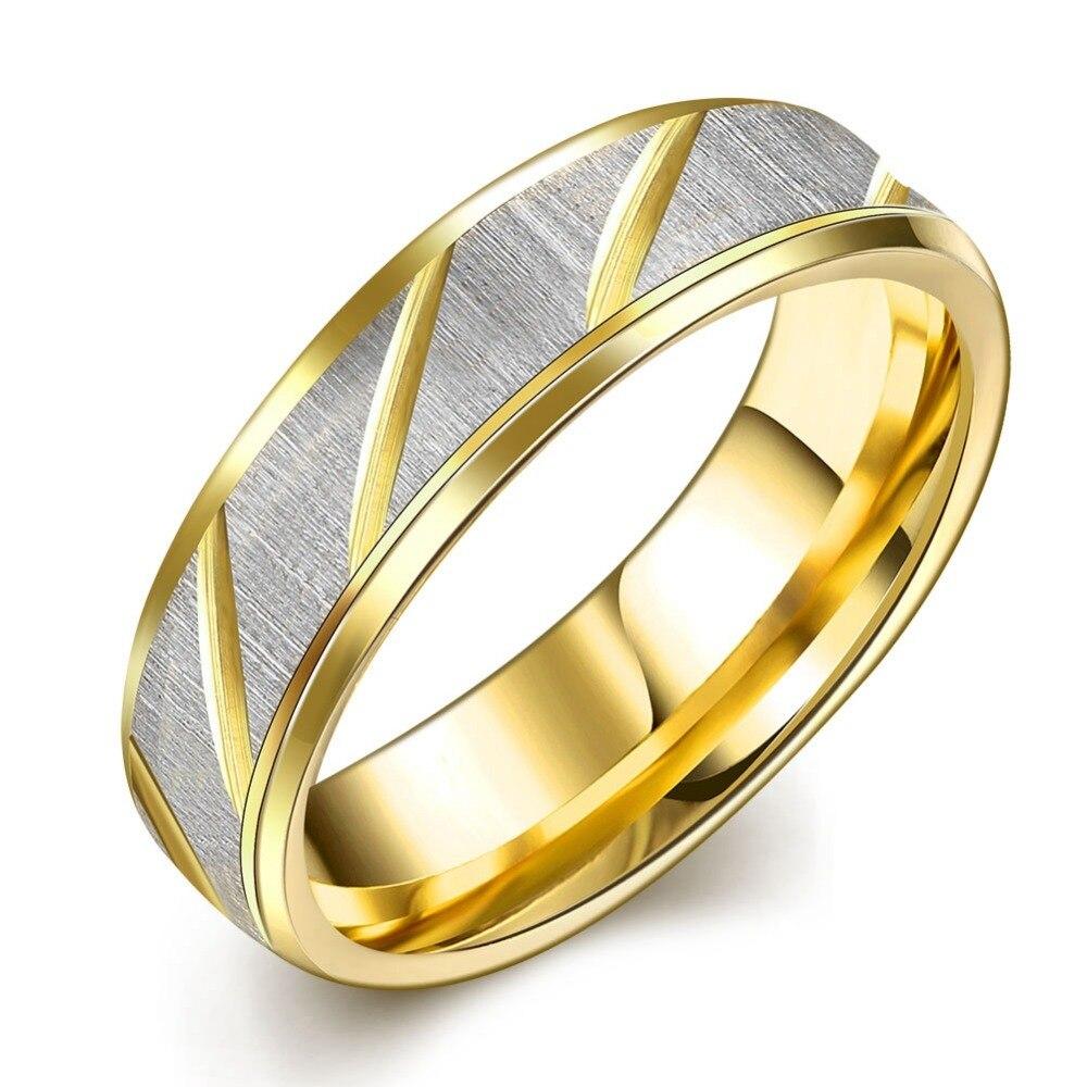 <font><b>New</b></font> <font><b>Arrival</b></font> Titanium Ring for Men and Women <font><b>Hot</b></font> <font><b>Sale</b></font> Gold <font><b>Color</b></font> Men Ring <font><b>Wholesale</b></font>
