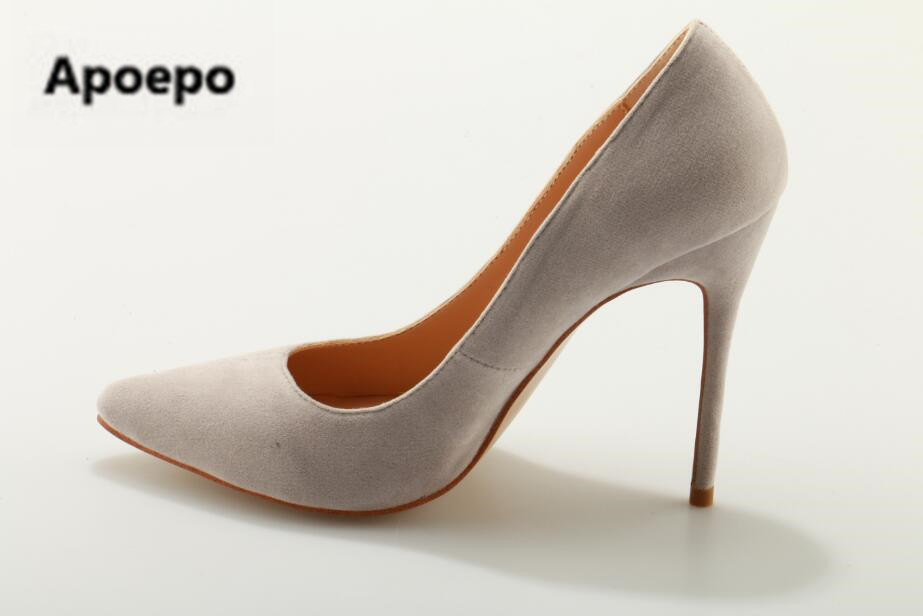 Pumps Wrapped-Heel Grey High-Heel Shoes Cross-Strap Lace-Up Pointed-Toe Elegant Hot-Selling