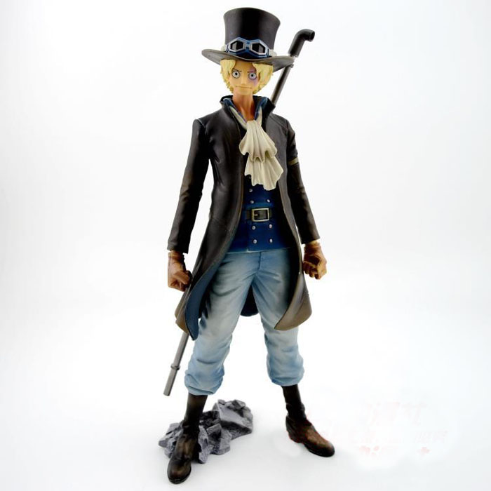 ФОТО Cosplay One Piece Boxed 27cm/10.6'' Sabo Figure GK Garage Kit Action Figures Toys Model