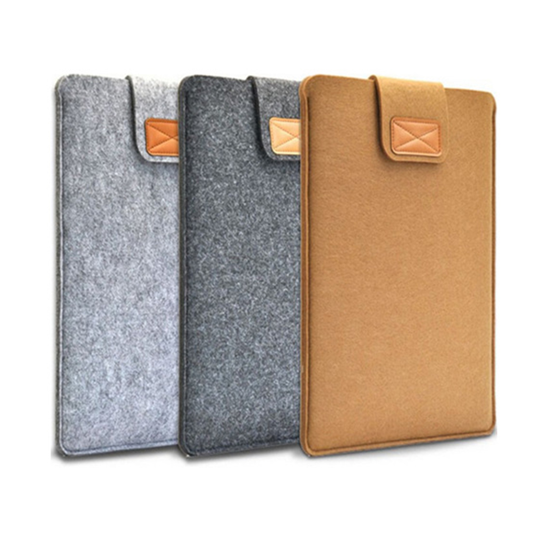 Soft <font><b>Sleeve</b></font> Felt Bag Case Cover Anti-scratch for 11inch/ <font><b>13inch</b></font>/ 15inch Macbook Air Pro Retina Ultrabook <font><b>Laptop</b></font> Tablet X DJA99 image