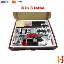 8 in 3 All Metal Multi-Functional Lathe / Mini Lathe Modular Machine Tool for wood and Soft Metal