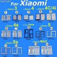 فتحة بطاقة sim حامل صينية استبدال المقبس محول الهاتف ل xiaomi 3 3 ثانية 4 4c/4i 4 ثانية 5 ل xiaomi مذكرة