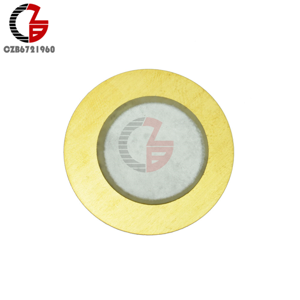 10PCS 12mm Piezo Elements Sounder Sensor Trigger Drum Disc + Copper ...
