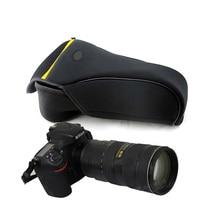 portable Camera Case bag for Nikon D600 D610 D800 D810 D850 D750 D700 D300 70 200mm 80 400 protective pouch cover soft inner bag