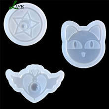 3pcs/set Sailor Moon Stuff Silicone Cake Mold Soap Mold Fondant Cake Decorating Tools Chocolate Baking Kitchen Accessories #612(China)