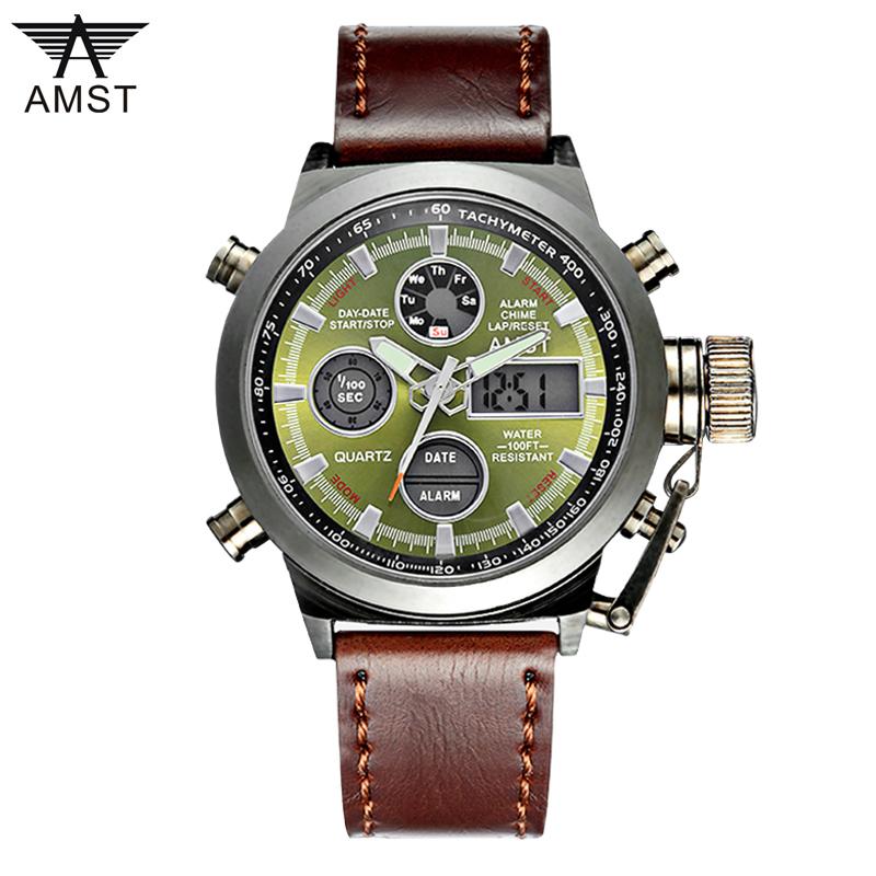 Prix pour AMST 3003 Montre Homme Dive Piscine Numérique LCD Quartz Sports de Plein Air Montres Relogio Masculino Horloge Pour Hommes Reloj Hombre