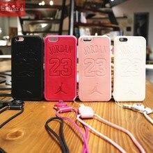 ФОТО nba air-man michael jordan 23 soft pu leather case for iphone 8 8 plus x 7 7 plus 6 6s 6plus case back cover coque fundas shell