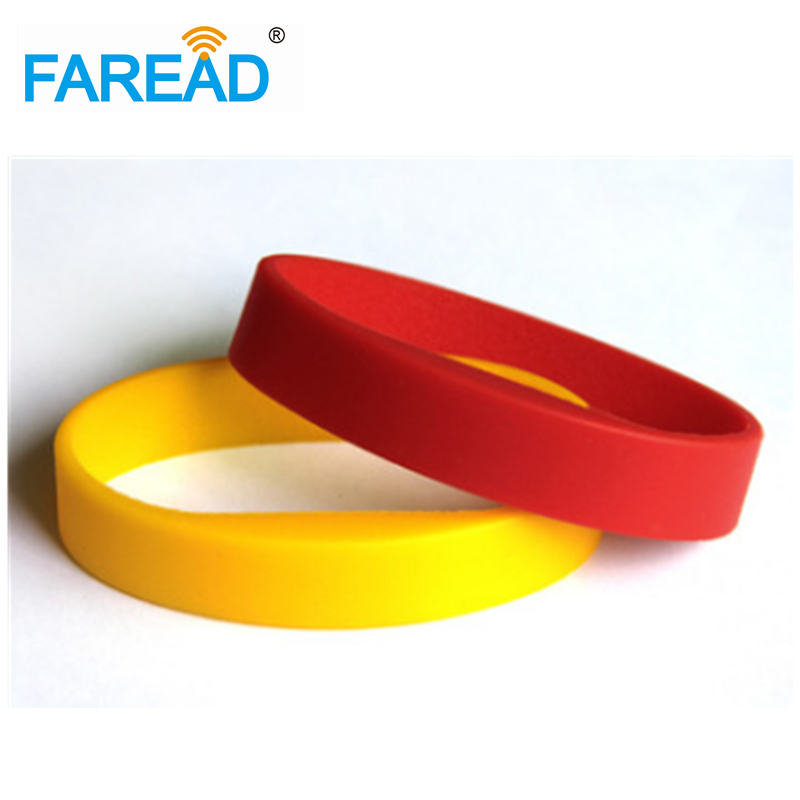 Free Shipping 125khz TK4100  RFID Wristband  For Swimming Pool Sauna Room GYM 100pcs/lot