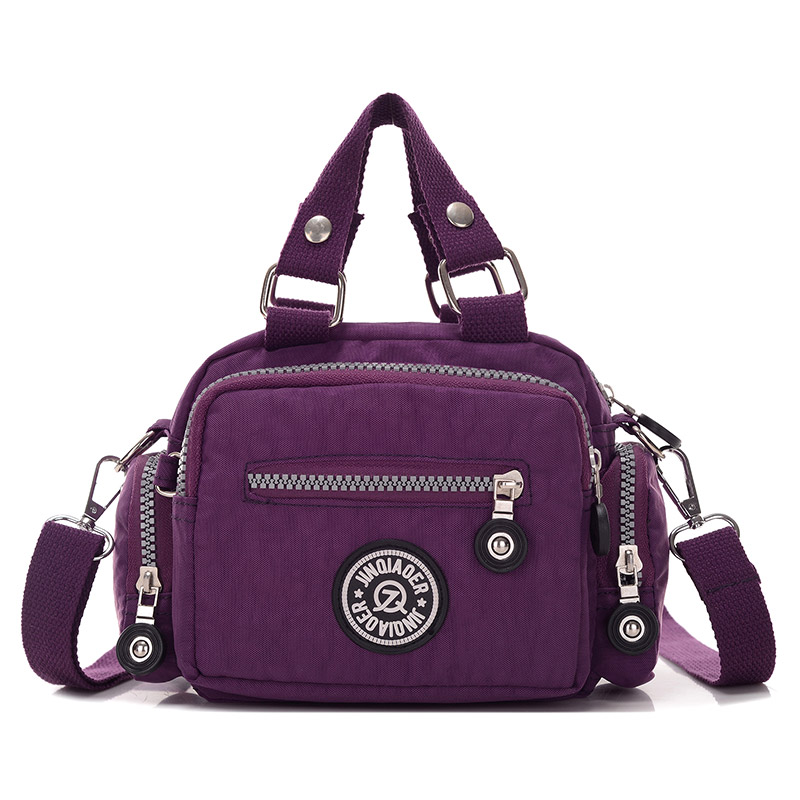 10 Colors Female Nylon Waterproof Handbag Women Kiple Style Mini Travel Messenger Bags Crossbody Shoulder Bags Bolsa Feminina