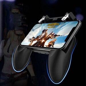 Image 2 - W10 Wireless Gamepad PUBG Joystick di Controllo Remoto per iOS Android Del Telefono Mobile Maniglia Controller Console di Gioco Accessori