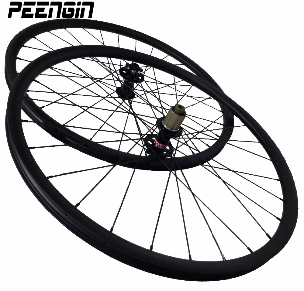 roda mtb 29er mountain bicycle wheelsets 29er Down hill strong rim disc brake DH pillar spokes chinese-carbon-wheels with skewer roda raw 25nvn