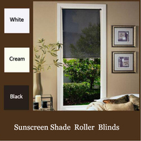 MODERN SCREEN SHADE ROLLER BLINDS CHOOSE YOUR COLOR and SIZE. TOP QUALITY