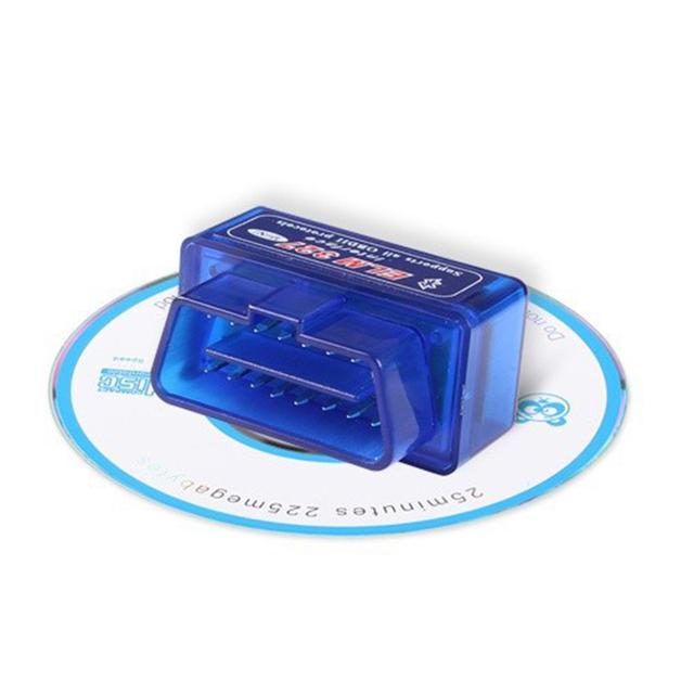 ELM327 OBD2 Bluetooth V1.5 V2.1 Car Diagnostic Tool ELM 327 V1.5 OBD 2 Scanner Work Android Windows 12V Diesel