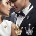 O Laço Dos Homens da Forma coreano Clássico Calções De Casamento Pins Broches Para As Mulheres de Cristal Cheio Mini Pinos Broches Jóias Da Moda